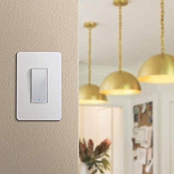 meross Smart WiFi Light Switch, Wall Switch, Compatible with Amazon Alexa, Google Assistant and IFTTT, Remote Control, Schedules, Timer, No Hub Needed – Upgrade Version