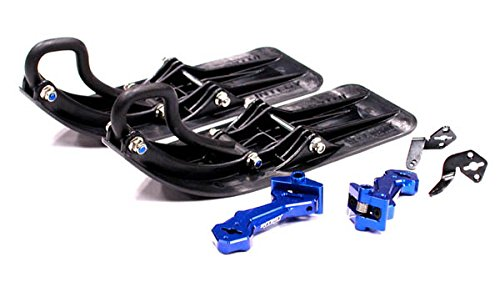 Integy RC Model Hop-ups T3297BLUE Front Sled Attachment Set for 1/10 Traxxas Revo, Summit, T/E-Maxx (for RWD Only) (Sled Attachment)