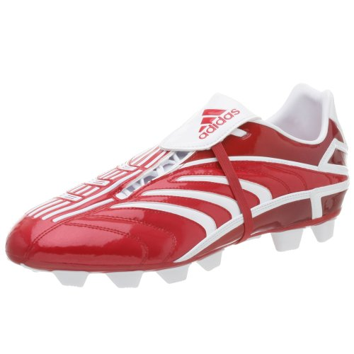- adidas Men's +Predator Absolado TRX FG Soccer Shoe,Univ Red/White,11.5 M