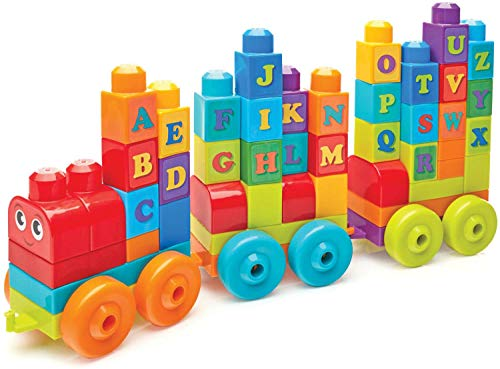 - Mega Bloks ABC Learning Train Building Set