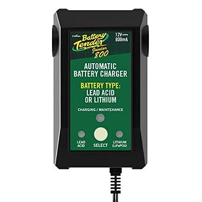 Battery Tender Jr. Selectable Lead Acid/Lithium Charger: Automotive