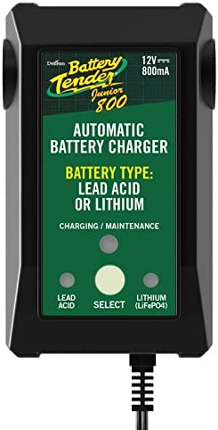 Selectable Lead Acid//Lithium Charger Battery Tender Jr