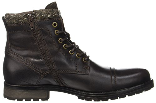 Jfwmarly Leather Bison, Bottes Classiques Homme, Noir (Bison), 45 EUJack & Jones