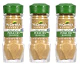 McCormick Gourmet Organic Poultry Seasoning, 0.87 oz (Pack of 3)