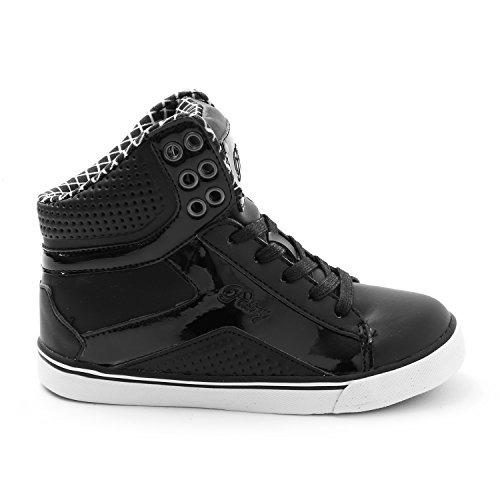 Pastry Y3 Pop Tart Grid Dance Shoes, Black/White