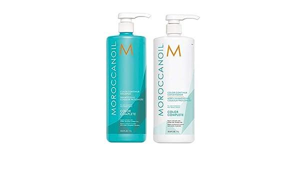 Moroccanoil Pack Champu Color Complete 1000ml + Acondicionador Color Complete 1000ml: Amazon.es: Belleza