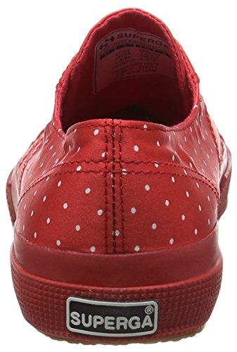 Mujer red Rojo Dotssatinw 2750 Superga Zapatillas vqSBRg