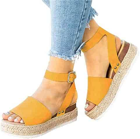 7a83bdb383a Shopping Yellow or Silver - 2 Stars & Up - Platforms & Wedges ...