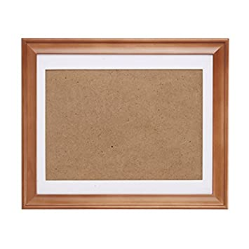 Amazon.com - Fastnova 18x22 inch Wide Brown Wood Picture Frames Made ...