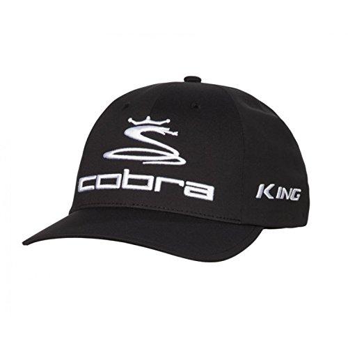 (Cobra Golf 2017 Tour Delta Hat BLK L/XL (Black, Large/X-Large))