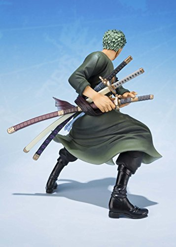 "Bandai Tamashii Nations Roronoa Zoro 5th Anniversary Edition ""One Piece"" Action Figure"