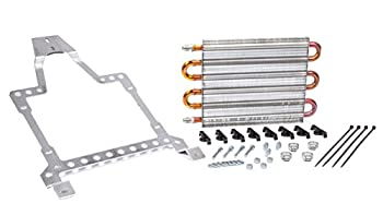 Flex-a-lite 41166TJ Direct-fit Translife Transmission Oil Cooler with -6 AN Fittings for Jeep TJ and YJ