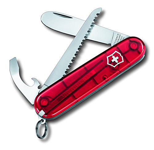 Victorinox Taschenwerkzeug Transparent Rot My First Vx, 0.2373.T