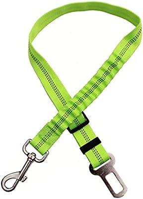 Waymeduo Cinturón de Seguridad Ajustable para Perros Arnés de ...