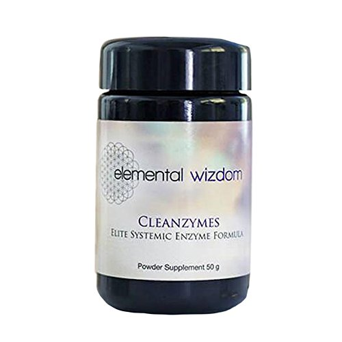 Cleanzymes Systemic Enzymes by Elemental Wizdom by Elemental Wizdom