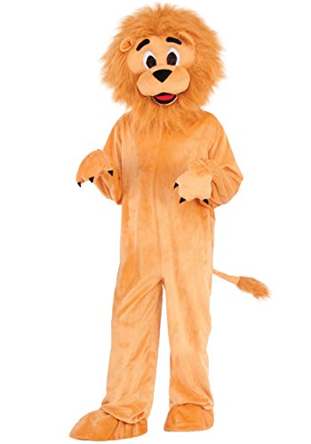 Forum Novelties Kids Lion Mascot Costume, Multicolor, Medium