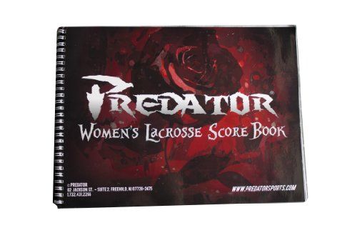 Predator Official Lacrosse Score Sheet Scorebook -