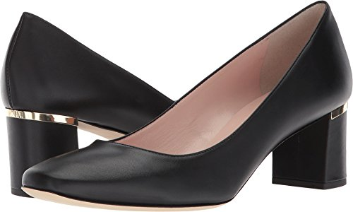 Calf Leather Pump Shoes (Kate Spade New York Women's Dolores Too Black Calf 8 M US)