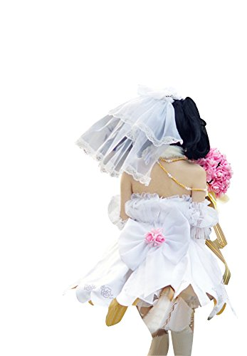 Mtxc Women's Love Live! Cosplay Costume Nico Yazawa Dress Size X-Large White by Mtxc (Image #3)