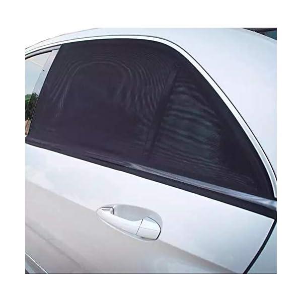 Tendine Parasole Auto Bambini Stefe Parasole Auto Bambini, Anti-zanzara e Blocca Raggi UV, Oscura Vetri, Protegge i tuoi… 3 spesavip
