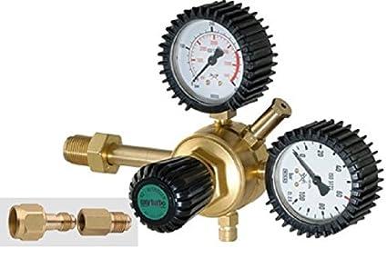 Reductor de presión de nitrógeno 40 bar para gases ...