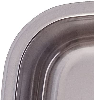 Kindred FUDG800-18BX Large Double Bowl Stainless Steel 29.5 x 15.5-Inch Under-mount Sink