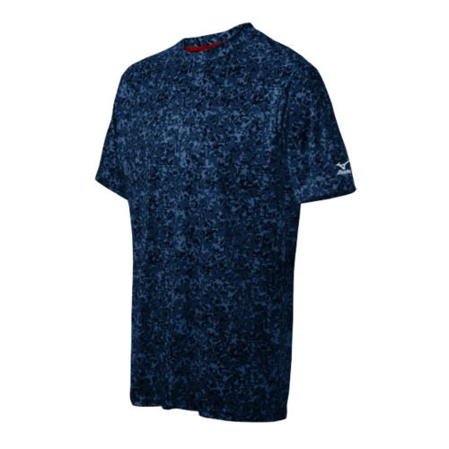 Mizuno野球ユースdigi-camo Teeレッド B014G4DO7G M|ブルー ブルー M
