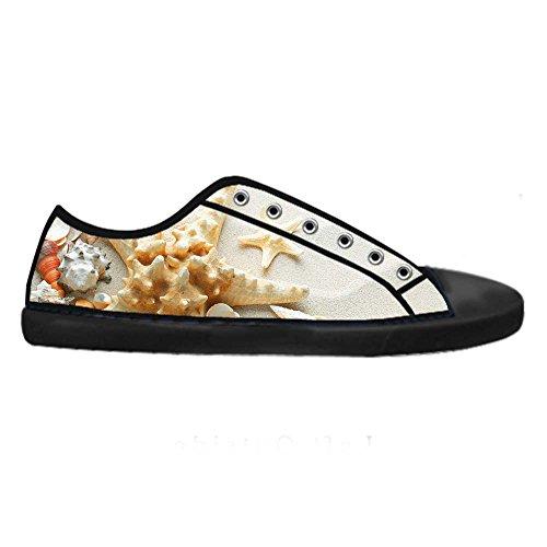 Dalliy Strand-Seestern Mens Canvas shoes Schuhe Lace-up High-top Sneakers Segeltuchschuhe Leinwand-Schuh-Turnschuhe A