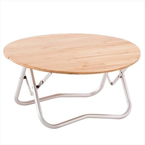 LOGOS (ロゴス) Bamboo 丸テーブル 1711 73180027 - B077JRSMF9