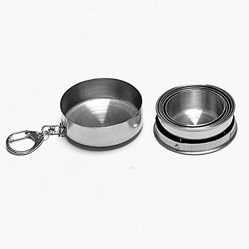 Stainless Steel Portable Outdoor Travel Camping Folding Collapsible Cup by Unknown (Image #2)