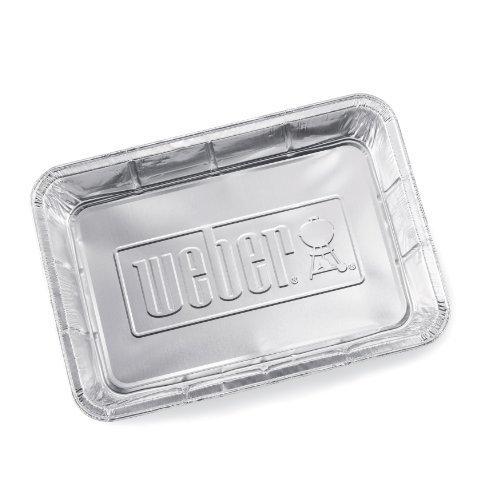 weber-6416-large-aluminum-drip-pans-10-pack
