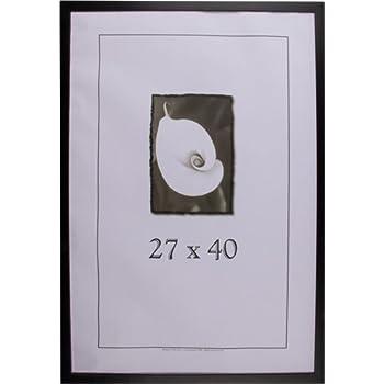 27x40 simply poly poster frame black