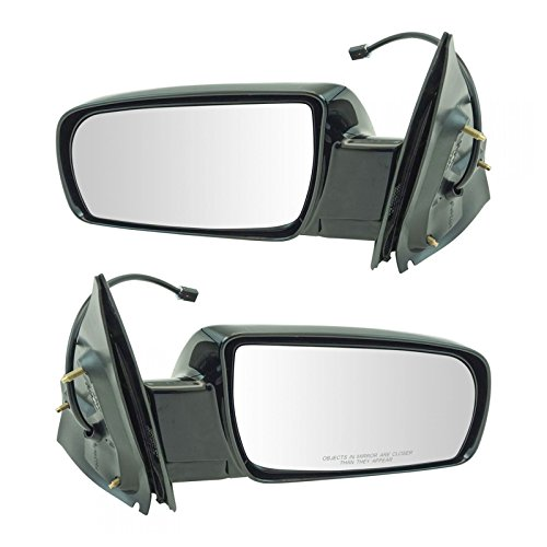 Power Folding Mirrors Black Left LH & Right RH Pair Set for 00-05 Chevy Astro