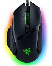 Razer Basilisk V3 Customizable Ergonomic Gaming Mouse: Fastest Gaming Mouse Switch - Chroma RGB Lighting - 26K DPI Optical Sensor - 11 Programmable Buttons - HyperScroll Tilt Wheel - Classic Black