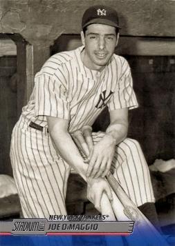 Joe Dimaggio Memorabilia - 2014 Topps Stadium Club #200 Joe DiMaggio Baseball Card
