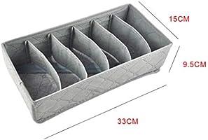 Hotaluyt 3pcs de la Ropa Interior Sujetador Organizador Calcetines Bufandas Ropa Interior Caja de Almacenamiento de Tela no Tejida de contenedores de cajones divisores: Amazon.es: Hogar
