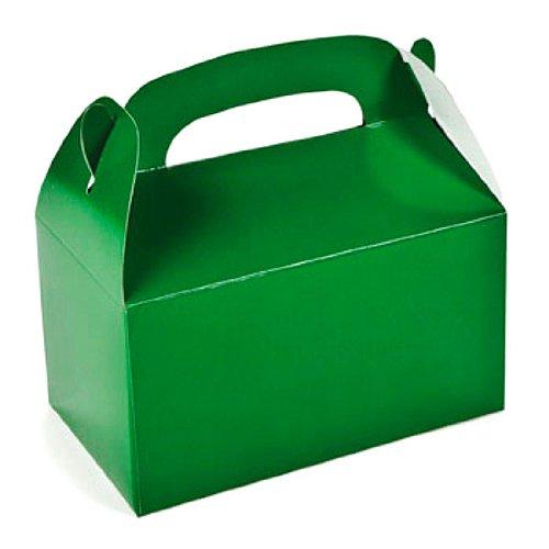 Fun Express Green Treat Gift Favor Boxes (1 Dozen) -