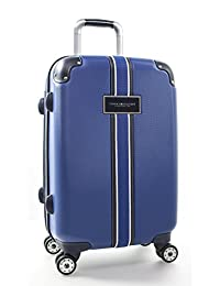 """Tommy Hilfiger Classic Hardside 21"""" Expandable Spinner Carry-On, Royal Blue, One Size (Model: TH118CC6)"""