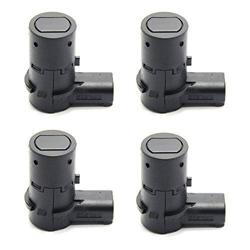 Shinehome 4 x 4F23-15K859-AA Reverse Backup Parking Assist Sensors For 2001-2011 Ford F250 Truck