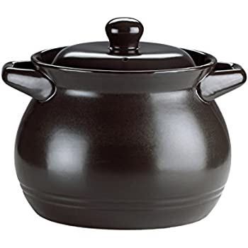 The Mexican Kitchen by Rick Bayless 2 quart Bean Pot, Small, Black