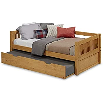 Amazon Com Camaflexi Mission Style Solid Wood Day Bed