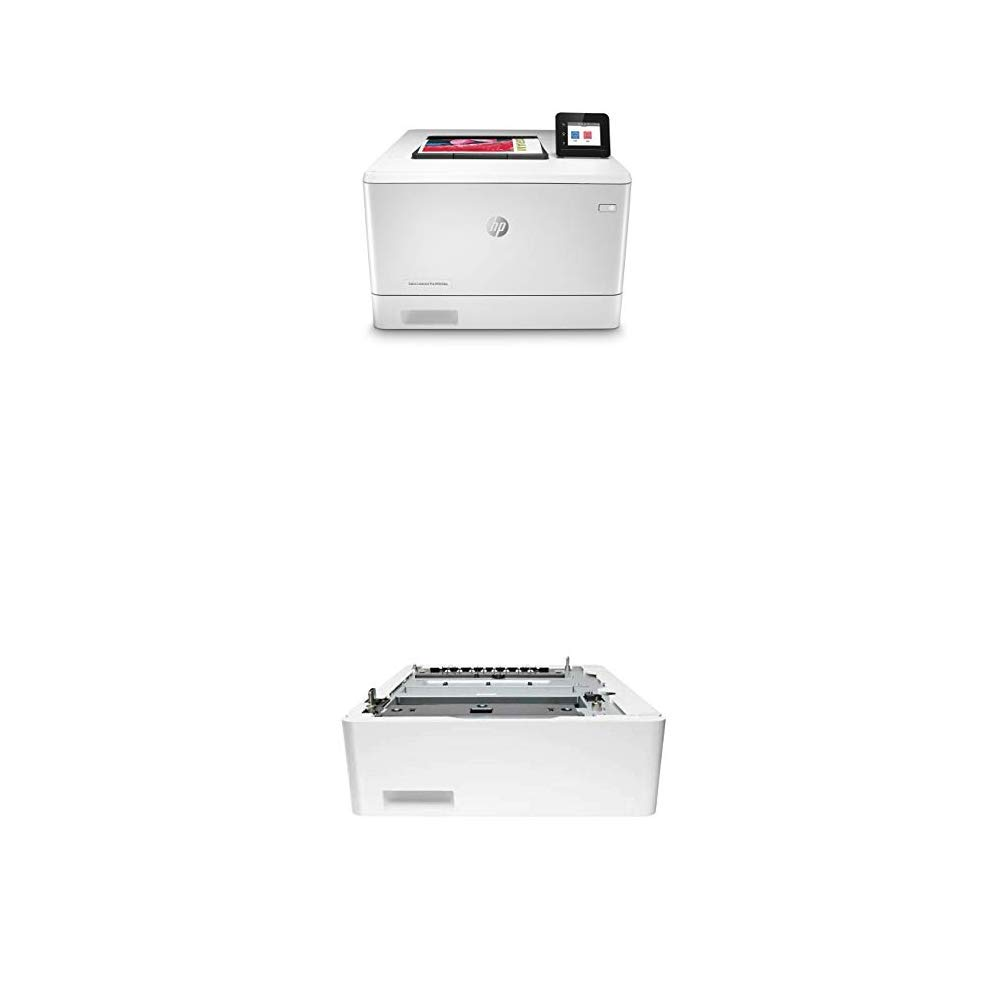 HP Color Laserjet Pro M454dw Printer (W1Y45A) with Additional 550-Sheet Feeder Tray (CF404A) by HP (Image #1)