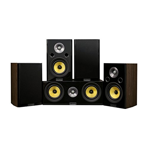 Fluance Signature Series Compact Surround Sound Home Theater 5.0 Channel Speaker System including Two-way Bookshelf…