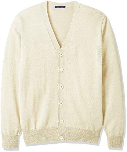 (コノミ) CONOMi(コノミ) スクール カーディガン【CONOMi男女兼用ウールアクリル 制服 カーディガン(全4色)】ゆったり/学校指定制服に合わせやすい無地タイプ / ブレザーの下にも着やすい/ネイビー/グレー/ベージュ/ホワイト