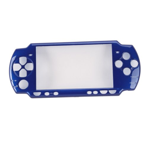 Blue Front Faceplate for Sony PSP2000 ()