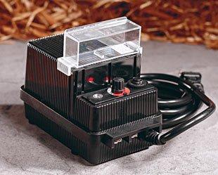 88W 12V AC Landscape Lighting Low Voltage Transformer w/ Photo Eye and Timer - Malibu / TDC # DA-88-12W-1