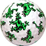 Frog Print Novelty Golf Ball 3 ct Pack, Outdoor Stuffs