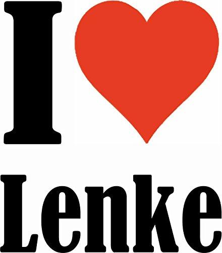 """Handyhülle iPhone 4 / 4S """"I Love Lenke"""" Hardcase Schutzhülle Handycover Smart Cover für Apple iPhone … in Weiß … Schlank und schön, das ist unser HardCase. Das Case wird mit einem Klick auf deinem Sma"""