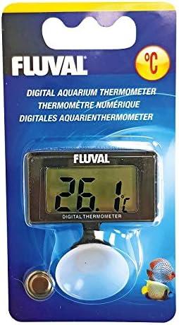 Fluval 11195 Termometro Digital Negro Amazon Es Productos Para Mascotas Termometro industrial infrarojo digital laser dual w01. fluval 11195 termometro digital negro