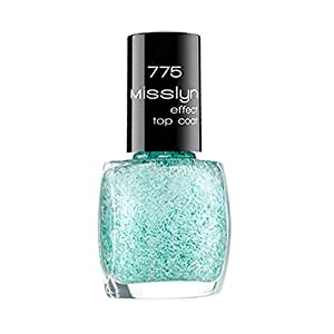 Misslyn Effect Top Coat No. 775 Merci - Turquoise Blue